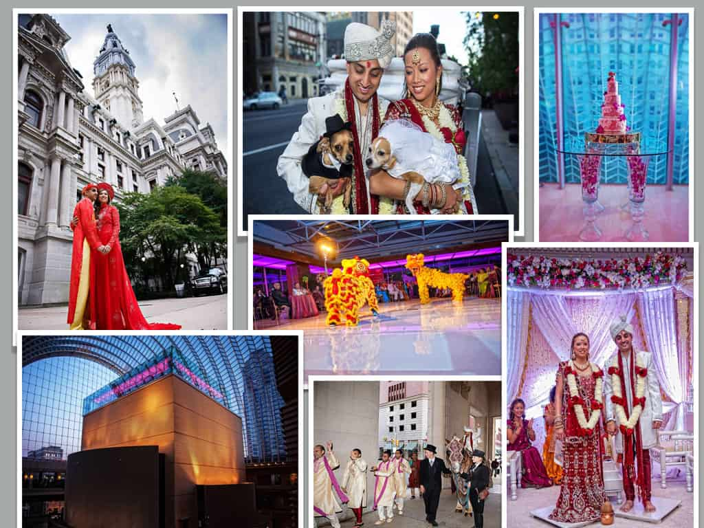 Philadelphia Pennsylvania Wedding Kimmel Center Marriott City Hall Baraat