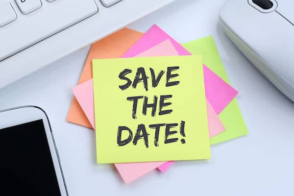 save the date - postponing your wedding during COVID 19 - working with your wedding planner to postpone your wedding