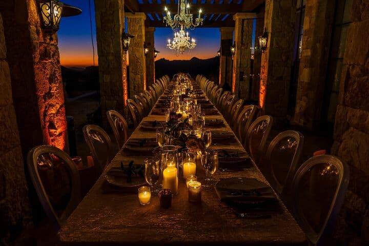 Chandelier Wedding Table Design