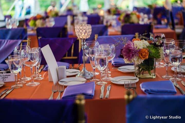 Crystal Candelabra Cnadleholders Table Design