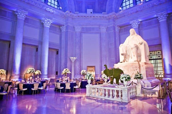 Frankin Institute Wedding Design1