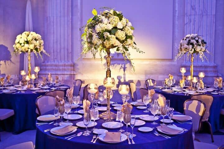 Franklin Institute Wedding Centerpiece1