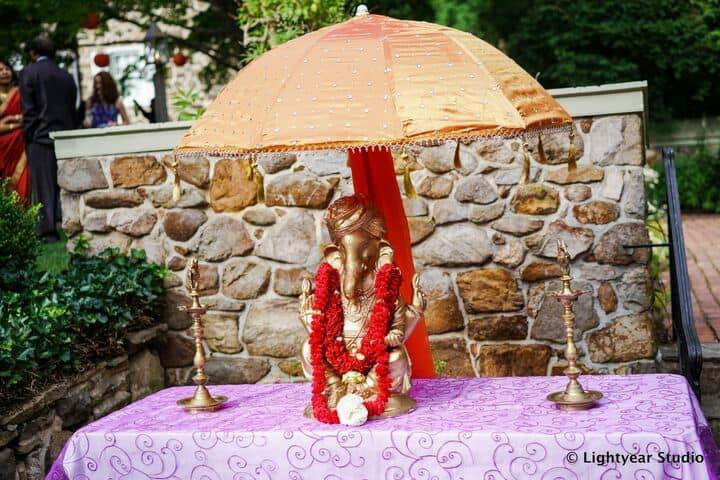 Ganesh Flowers and Decor