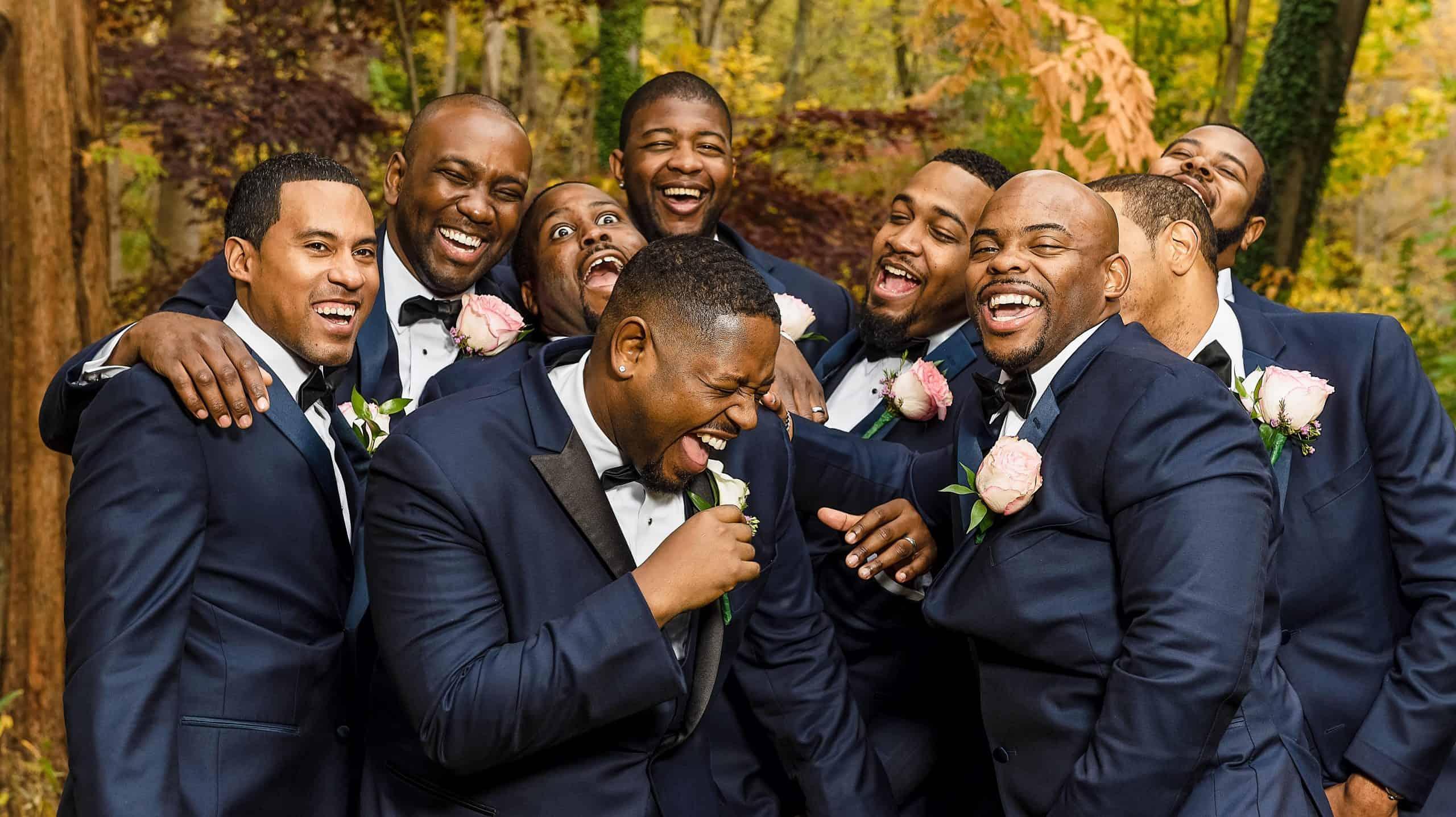 Groomsmen Boutonniere Philly Wedding1