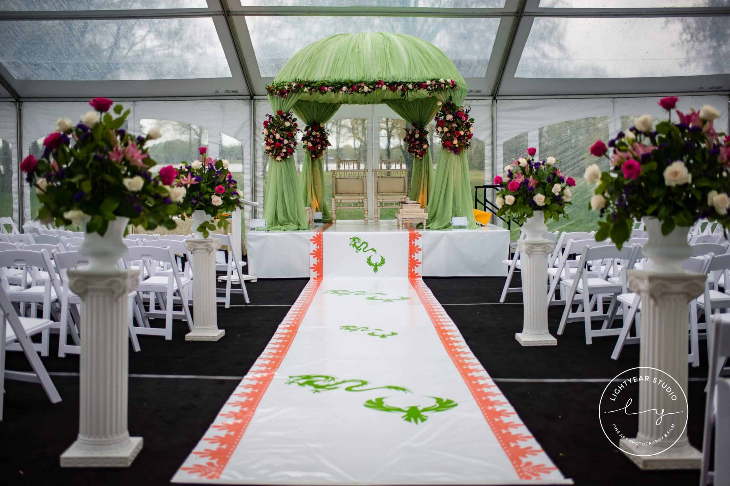 Indian Chinese Wedding Belle Voir Manor Elegant Events Philadelphia 20