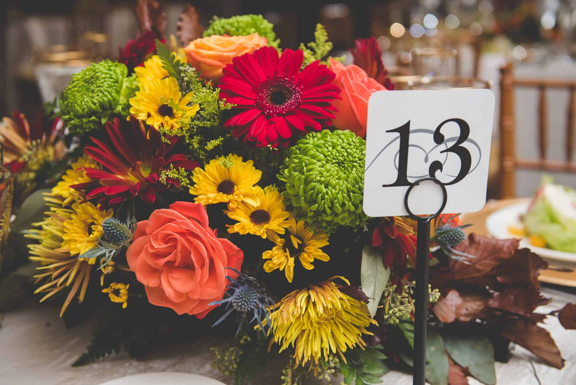 Inn at Villanova Fall Wedding