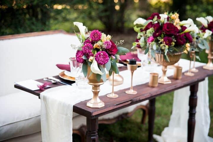 Outdoor Wedding Design and Decor Idea