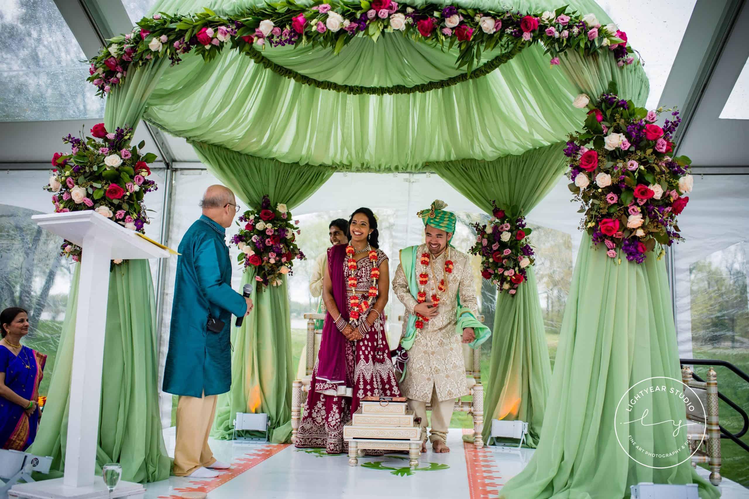 South Asian Mandap Ceremony Design