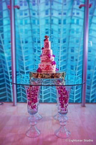 Wedding Cake Flower Design Philly
