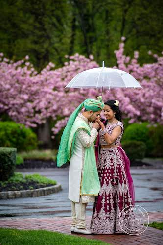 Indian Groom and Chinese bride at their Philadelphia destination wedding