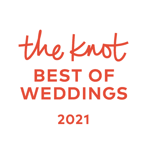 Elegant Events Best of Weddings 2021 award from The Knot