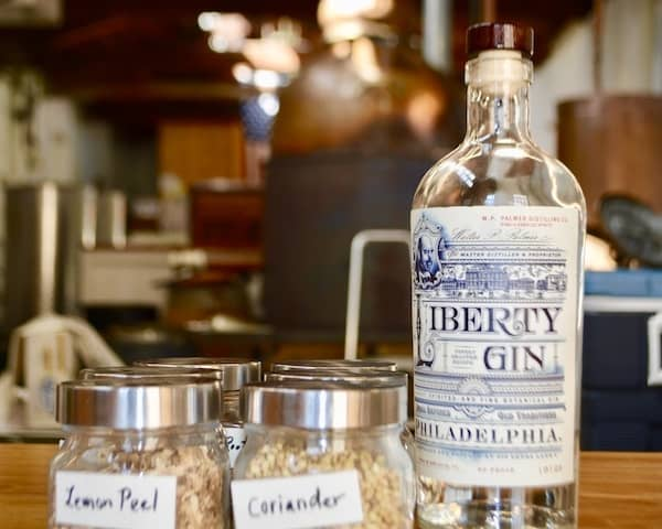 W.P.Palmer Distilling company's award winning Liberty Gin