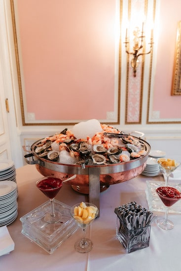 Raw Bar by Feastivities one of three Preferred Caterers at Cairnwood Estate