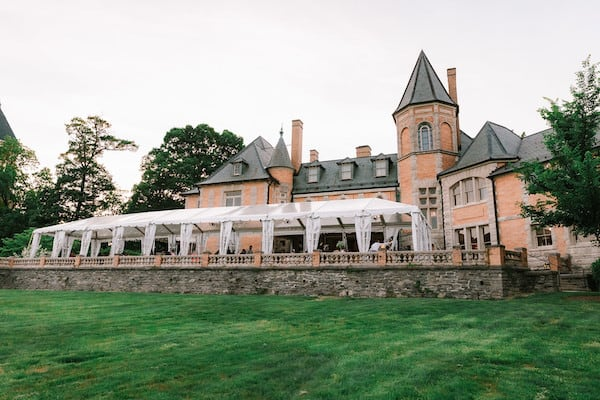 Tented South Terrace at Cairnwood Estate