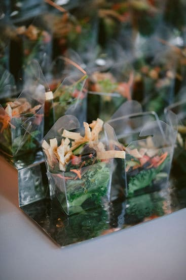 hors d' oeuvres display during a Philadelphia wedding at the Please Touch Museum