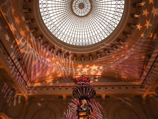 145 year old dome in Hamilton Hall at Philadelphia's Please Touch Museum